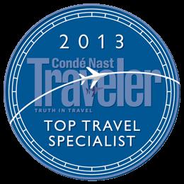 Condé Nast Traveler Top Travel Specialist