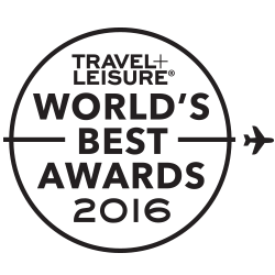 Travel + Leisure World's Best Awards 2015