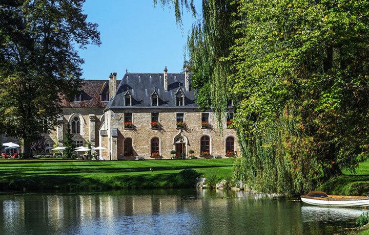 Best Luxury Hotels in Burgundy, Abbaye de la Bussière La Bussière-sur-Ouche