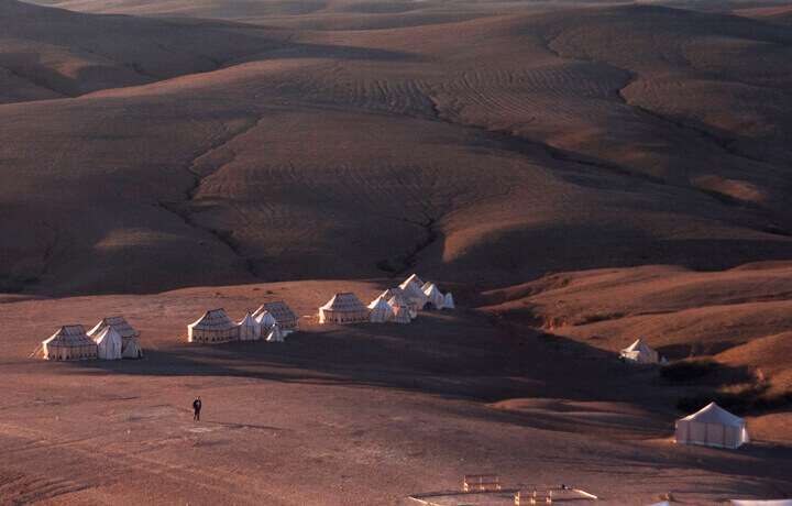 Best Luxury Hotels in Morocco, A Night in the Desert Iriqui Lake