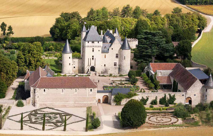 Best Luxury Hotels in Loire Valley, Château du Rivau Lemeré