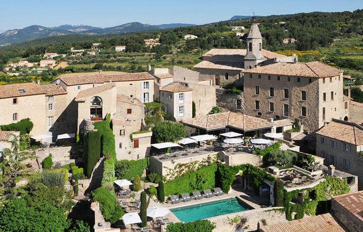 Best Luxury Hotels in Provence, Hostellerie de Crillon le Brave Crillon le Brave