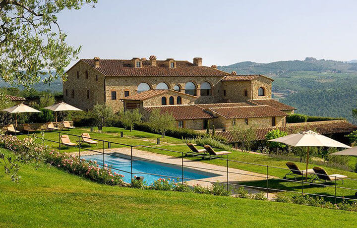 Best Luxury Hotels in Tuscany, Hotel Le Fontanelle Pianella