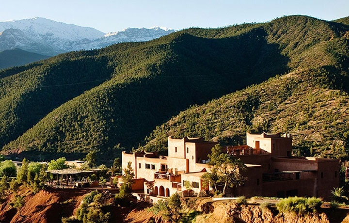 Best Luxury Hotels in Morocco, Kasbah Bab Ourika Valley