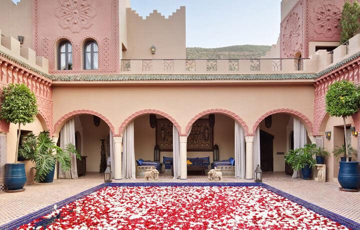 Best Luxury Hotels in Morocco, Kasbah Tamadot Asni