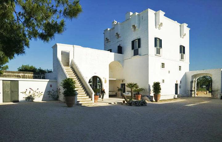 Best Luxury Hotels in Puglia, Masseria Torre Maizza Savelletri di Fasano