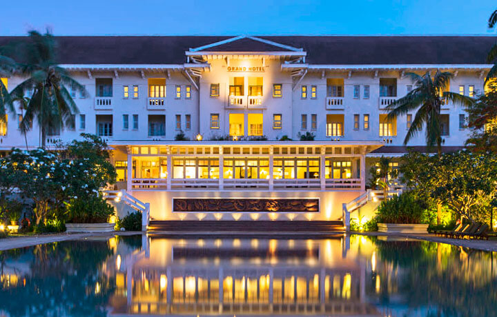 Best Luxury Hotels in Cambodia, The Raffles Grand Hotel d'Angkor Siem Reap