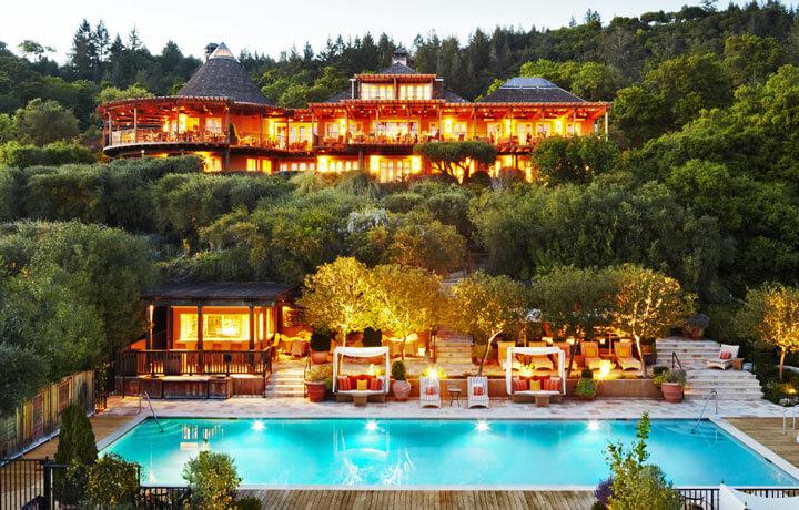 Best Luxury Hotels in United States, Auberge du Soleil Napa