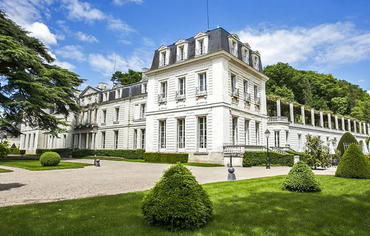 Best Luxury Hotels in Loire Valley, Château de Rochecotte Saint-Patrice