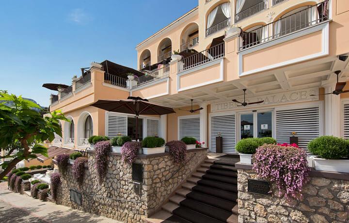 Best Luxury Hotels in Amalfi Coast, Capri Tiberio Palace Capri