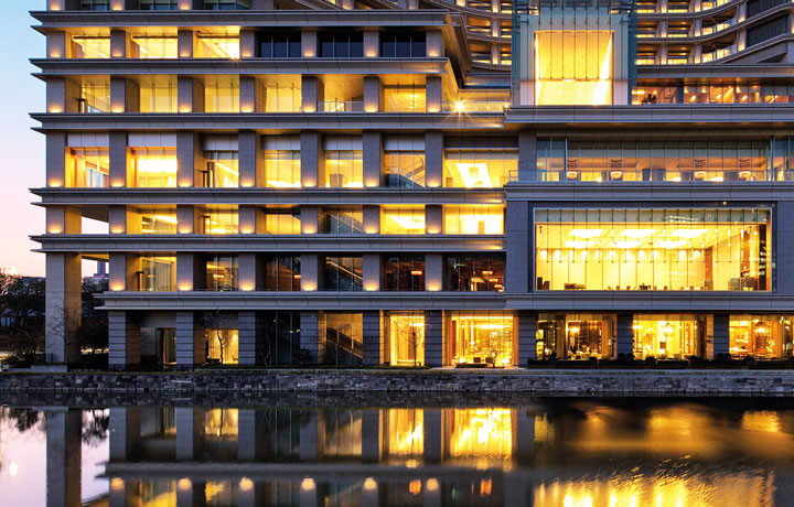 Best Luxury Hotels in Japan, The Palace Hotel Tokyo