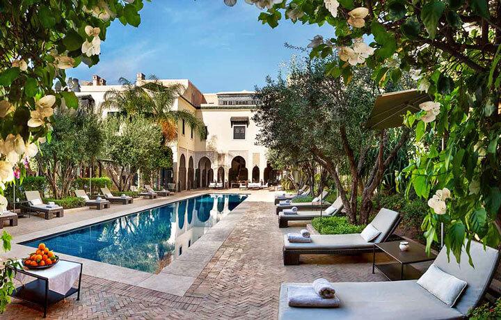 Best Luxury Hotels in Morocco, Villa des Orangers Marrakech