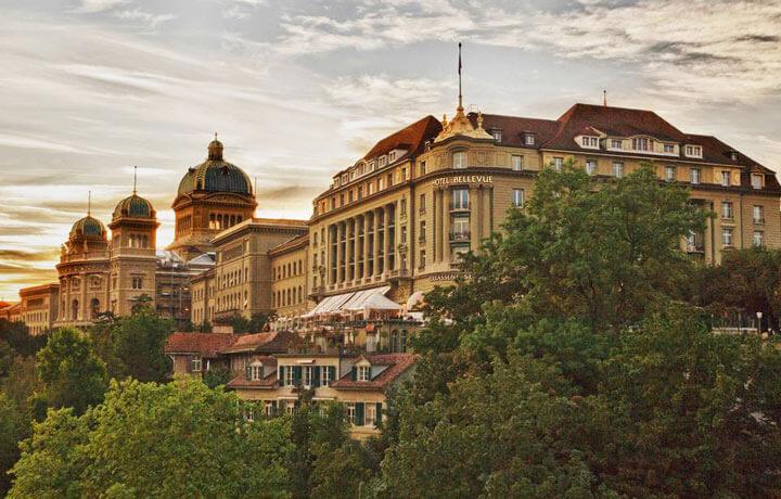 Best Luxury Hotels in Switzerland, Bellevue Palace Bern