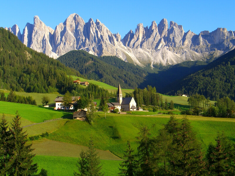 Dolomites luxury custom trips butterfield robinson for Best view of dolomites