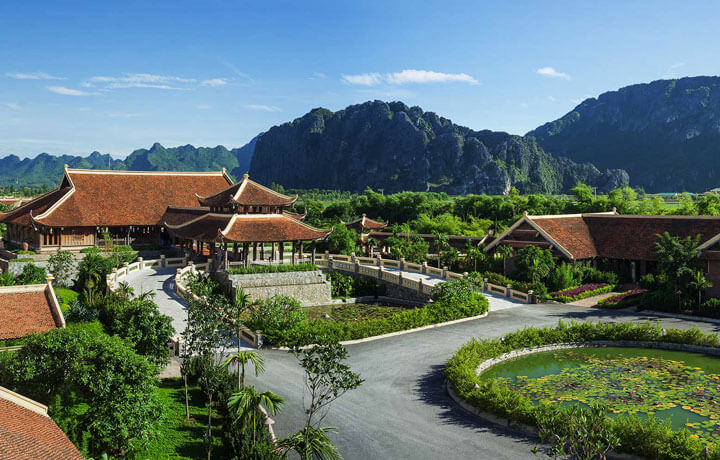 Best Luxury Hotels in Cambodia, Emeralda Resort Ninh Binh