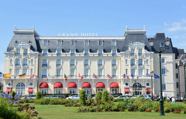Best Luxury Hotels in Normandy & Brittany, Le Grand Hotel Cabourg