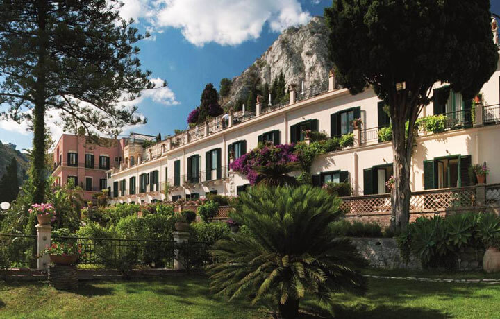 Best Luxury Hotels in Sicily, Grand Hotel Timeo Taormina