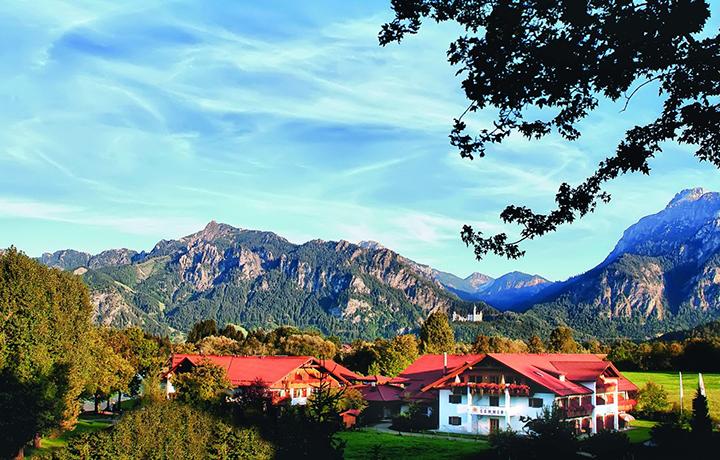 Munich alpine loop with bmw butterfield robinson for Fussen design hotel