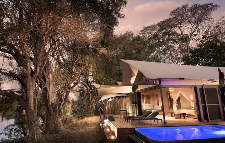 Best Luxury Hotels in Botswana, Thorntree River Lodge Zambia