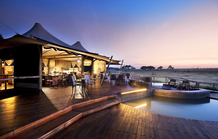 Best Luxury Hotels in Zimbabwe, Somalisa Camp Hwange National Park