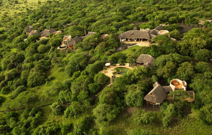 Best Luxury Hotels in Kenya, Ol Donyo Lodge Chyulu Hills