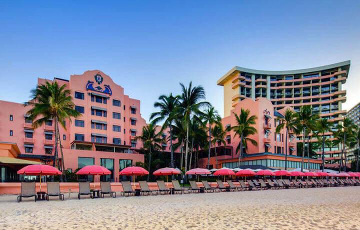 Best Luxury Hotels in United States, Royal Hawaiian Waikiki