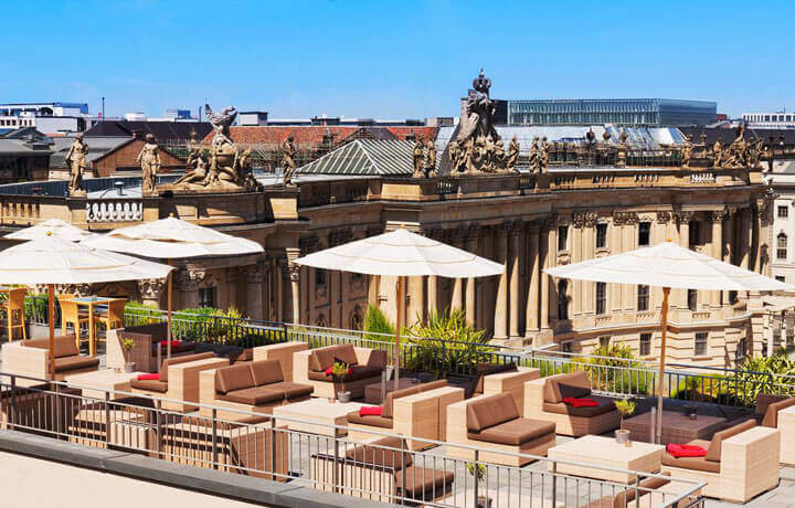 Hotel de Rome Rocco Forte, Best Luxury Hotels in Germany