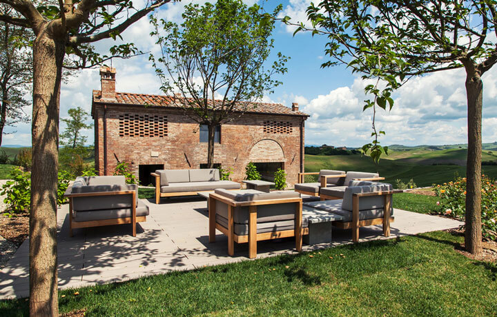 Best Luxury Hotels in Tuscany, Podere Panico Monteroni d'Arbia