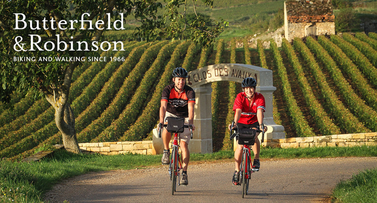 Butterfield & Robinson | Biking and Walking Since 1966