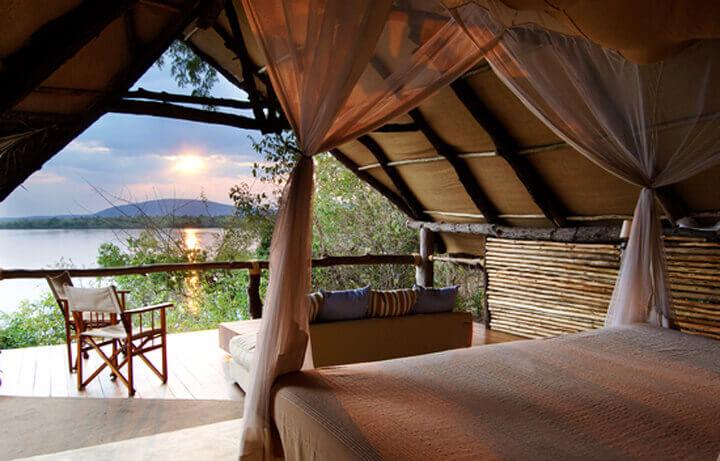 Best Luxury Hotels in Tanzania, Sand River Selous Rufiji River