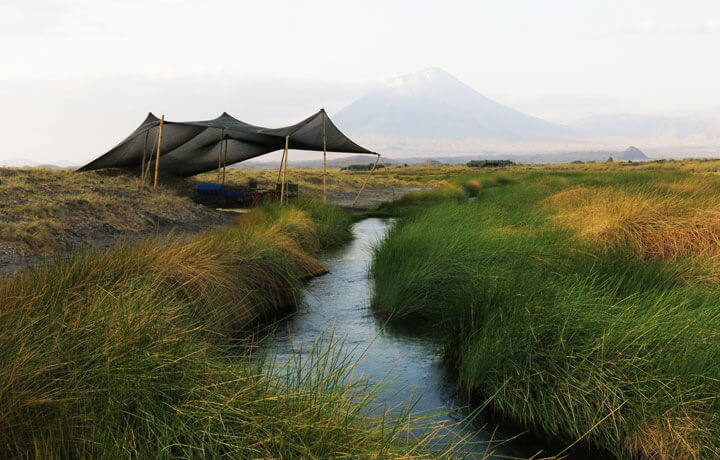 Best Luxury Hotels in Tanzania, Lake Natron Camp