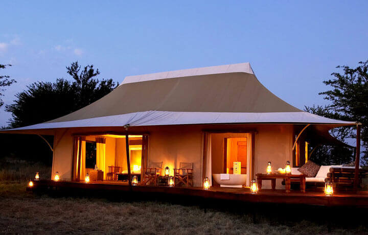 Best Luxury Hotels in Kenya, Sayari Camp Mara River