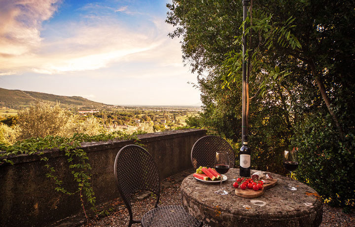 Best Luxury Hotels in Tuscany, Villa Laura Cortona