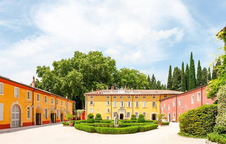 Best Luxury Hotels in Veneto, Villa Cordevigo Cavaion Veronese