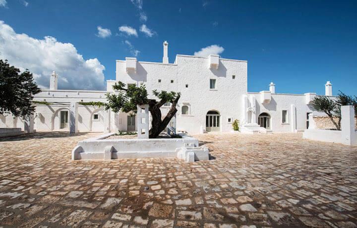 Best Luxury Hotels in Puglia, Masseria Le Carrube Ostuni