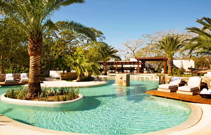 best luxury hotels in Mexico, Chablé Resort & Spa Tablaje