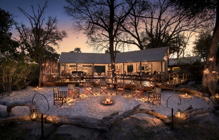 Best Luxury Hotels in Botswana, Khwai Tented Camp Okavango Delta