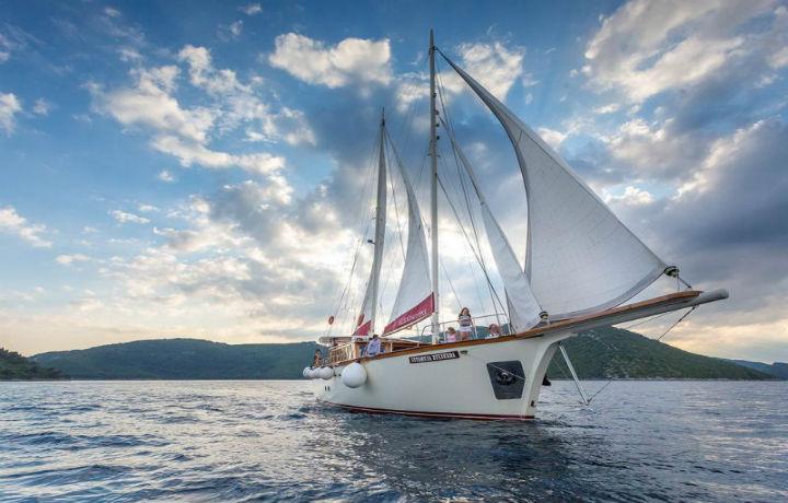 Best Luxury Hotels in Croatia, Morning Star Gulet Split